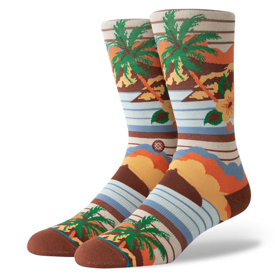 Stance Socks Kekaha Brown