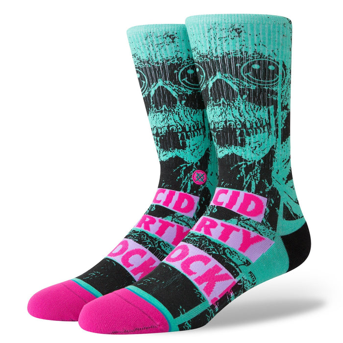 Stance Socks Acid Shock Teal