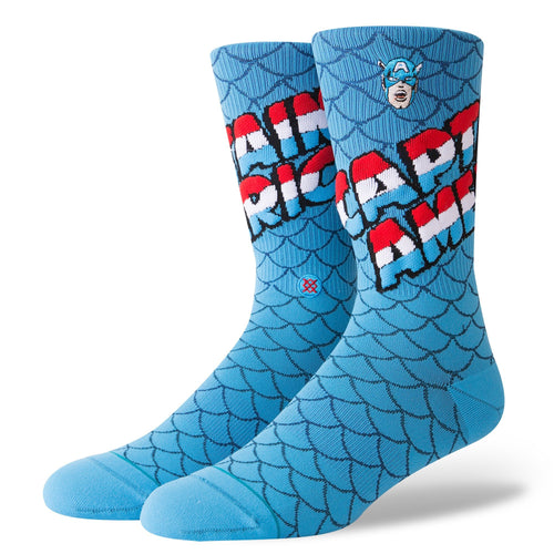 Stance Socks CAPTAIN AMERICA Blue