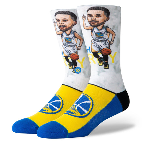 Stance Socks CURRY BIG HEAD Blue