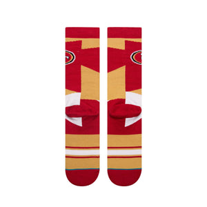 Stance Socks NFL 49Ers Retro Red