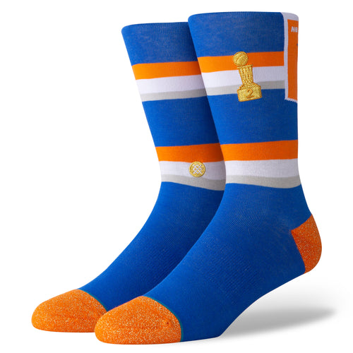 Stance Knicks Banner Mens Blue