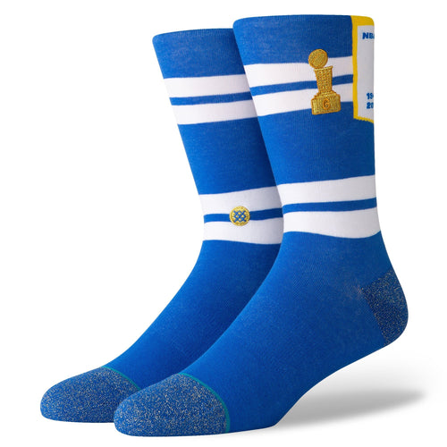Stance Socks Warriors Banner Blue