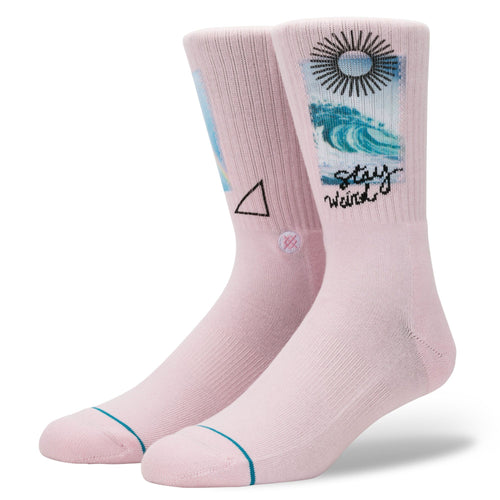Stance Socks STAY WEIRD Pink