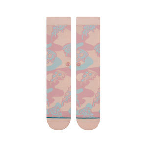 Stance Socks Pizza Party Pink