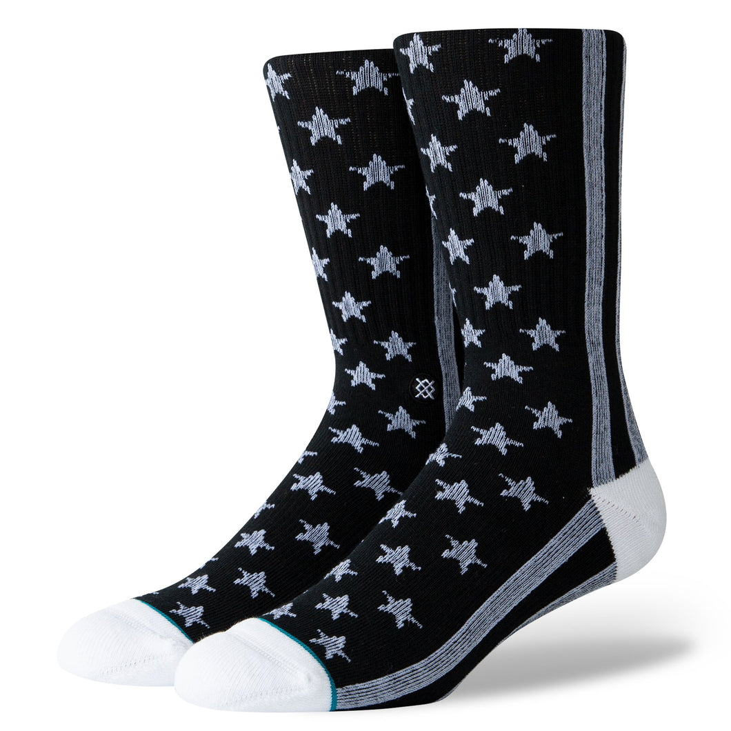 Stance Socks The States Black