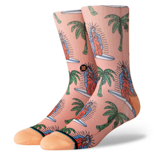 Stance Socks Surfin Guadalupe Melon