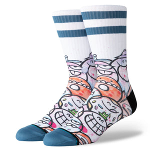 Stance Socks Why The Face Multi