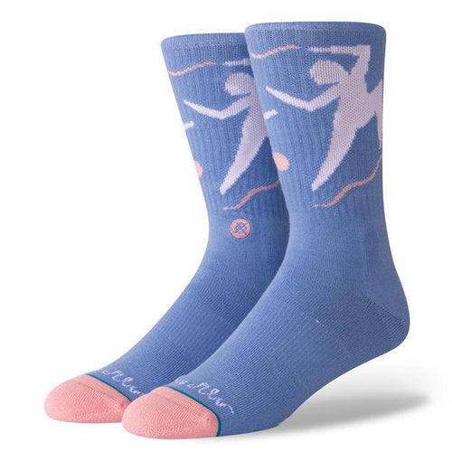 Stance Socks Mens Dance With Me Blue