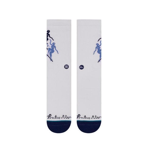 Stance Socks Mens Pontus White