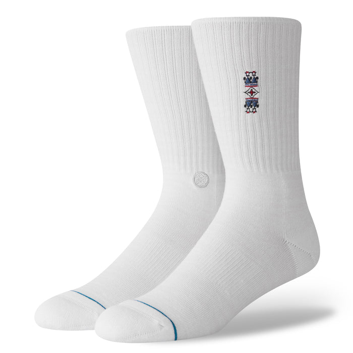 Stance Socks Toulouse White Mens