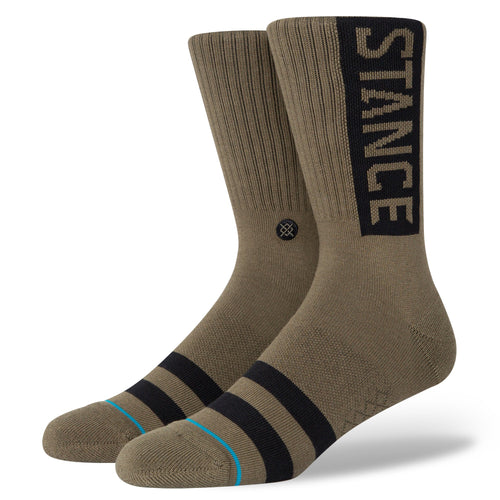 Stance Socks OG Army Green