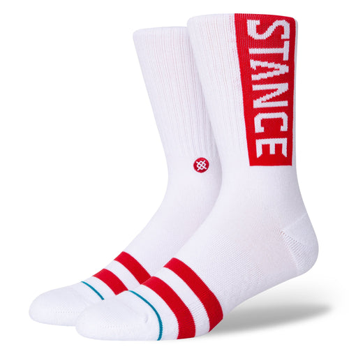 Stance Socks OG White/Red