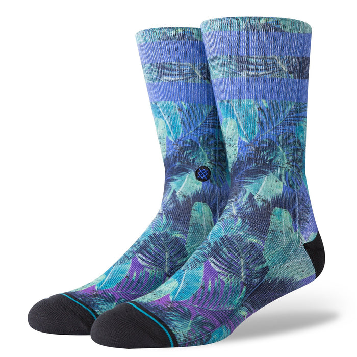 Stance Socks Pop Palms Blue