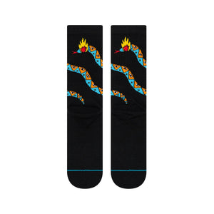Stance Socks RATTLER Black
