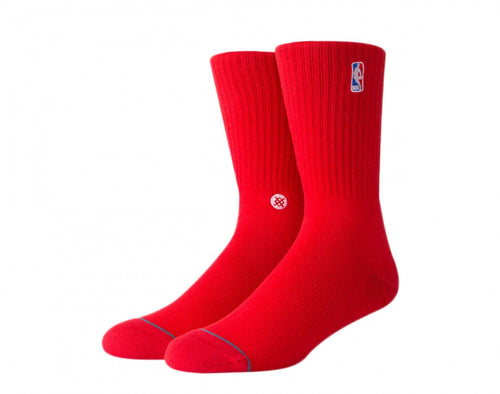 Stance Socks Nba Logoman Crew II Red