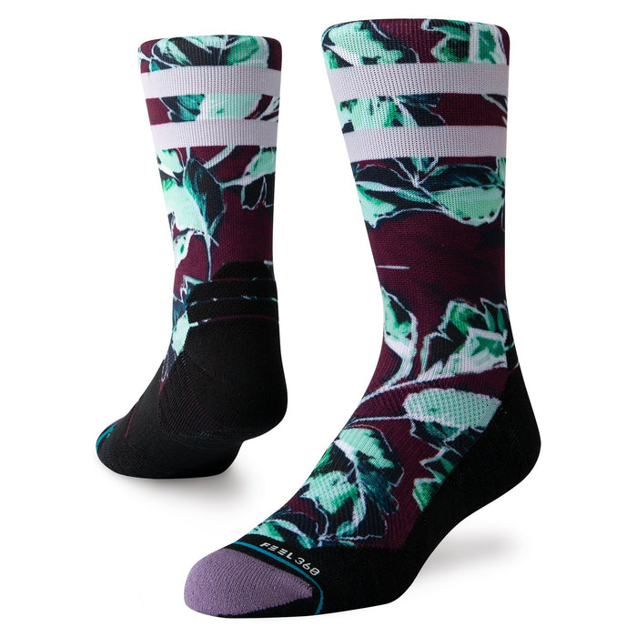 Stance Golf Socks Hybrid Crew Purple