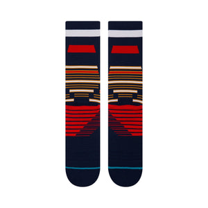 Stance Training Socks Tribute Crew Navy