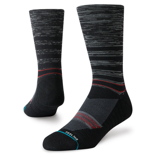 Stance Socks UNCOMMON BERM CREW Black