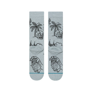 Stance Socks Wild And Free Heather grey