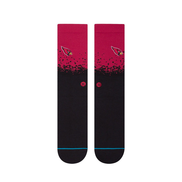 Stance NFL Socks Cardinals Fade Red