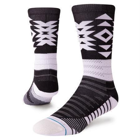 STANCE SOCKS DISTANCES CREW SOCK IN Black