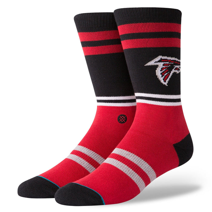 Stance NFL Socks Falcons Logo Black
