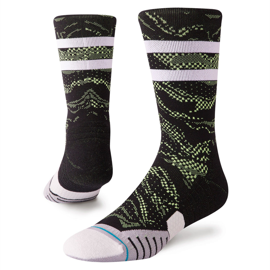 Stance Socks Mens Golf Techshot Crew Black