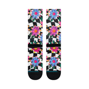 Stance Socks Flower Rave Multi