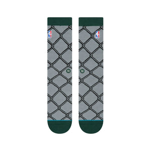 Stance Socks NBA Logoman Rec Nyc Grey