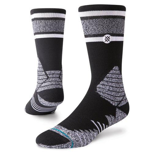 Stance Basketball Socks Gameday Stripe Black