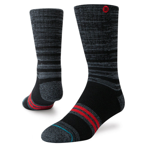 Stance Socks UNCOMMON SLAB OUTDOOR Black