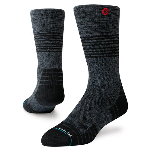 Stance Hiking Socks Uncommon Cinder Black