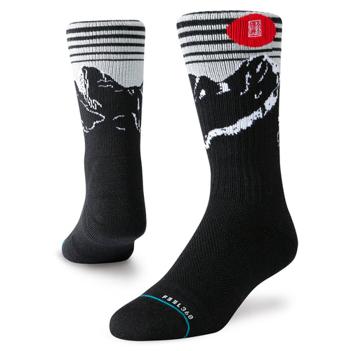 Stance Socks Adventure Alpine Jc Hike Black