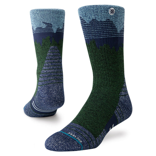 Stance Walking Socks Broderick Trek Blue
