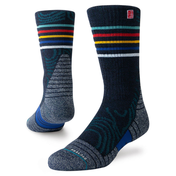 Stance Hiking Socks Ulvetanna Trek Navy