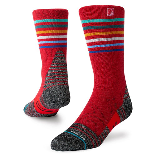 Stance Socks Adventure Karma Jc Trek Red