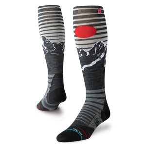 Stance Socks Snow Alpine Jc Ski Black