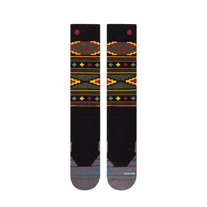 Stance Socks Men's Burnside Snow Black