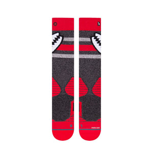 Stance Snowboarding Socks Crab Grab Red