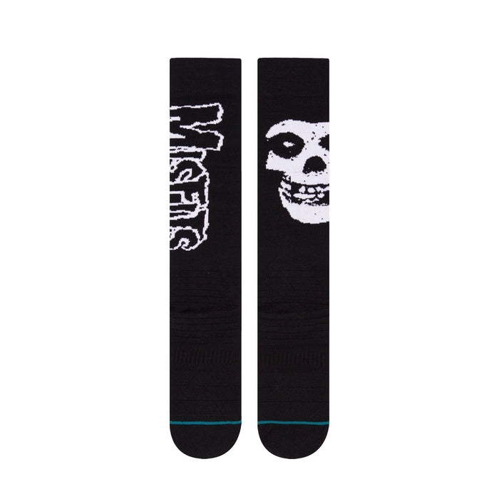 Stance Misfits Socks Snow Mens Black