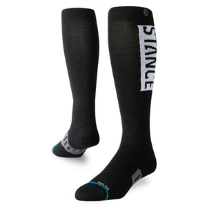 Stance Socks Snow Og Wool Black