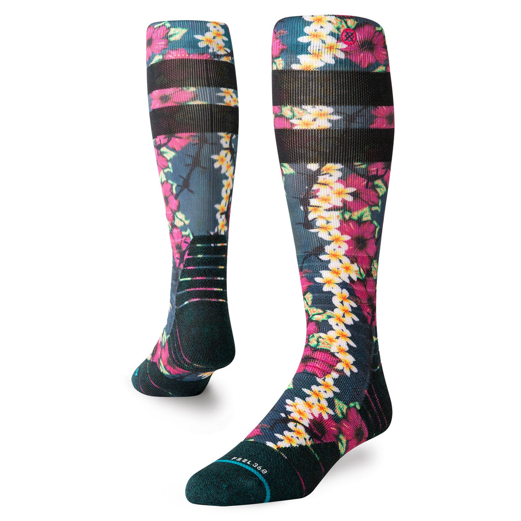 Stance Socks Snow Thorn Beach Green