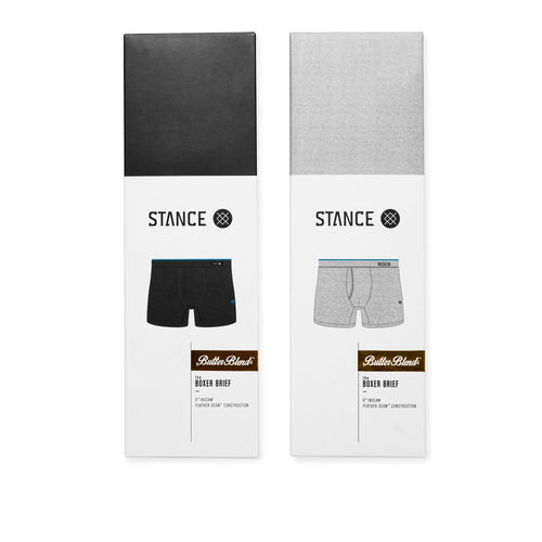 Stance Underwear Staple Boxer Brief 2 Pack Multi