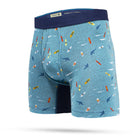 Load image into Gallery viewer, Stance Underwear LOCALISM BOXER BRIEF Blue Heather