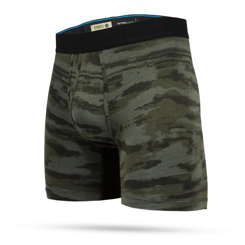Stance Underwear RAMP CAMO BOXER BRIEF Army Green