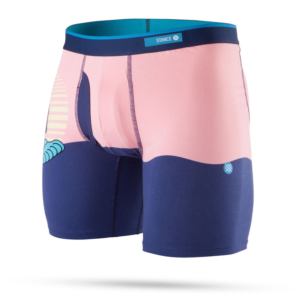 Stance Underwear Sunset Monkey Boxer Brief Navy