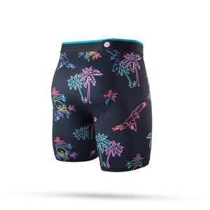 Stance Underwear Neon Tropics Boxer Brief Black