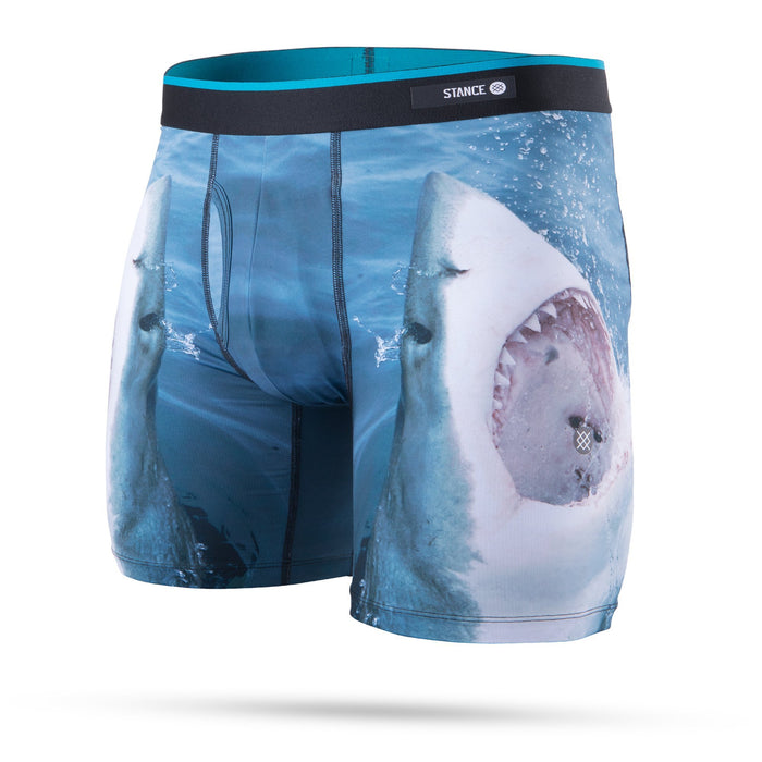 Stance Underwear Shark Tooth Boxer Brief Navy