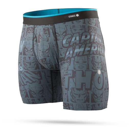 f80bf321f6 Stance Underwear Marvel Boxer Brief Black